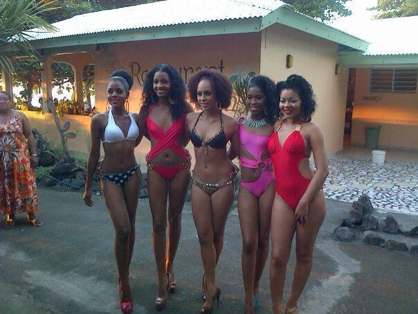 Miss Dominica contestants 2013