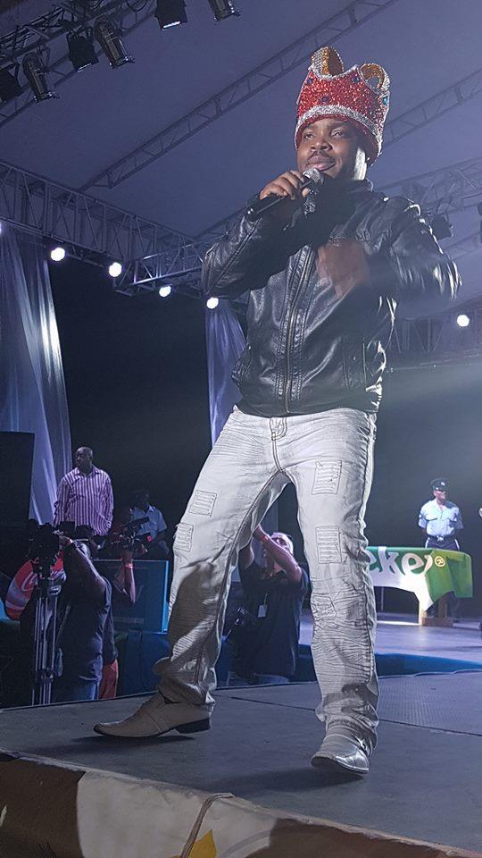 Karessah is 2017 calypso king