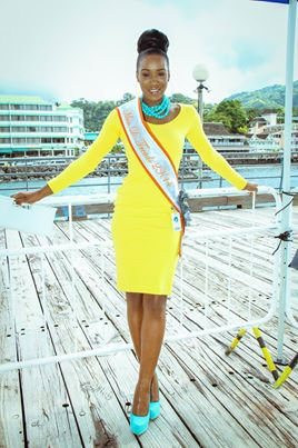 Francine Baron,Miss Dominica 2014